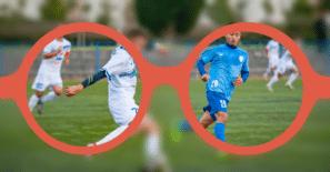 krátkozrakost fotbal